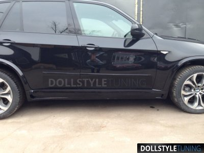 Накладки на пороги Hamann Evo без расширения для BMW X5 E70