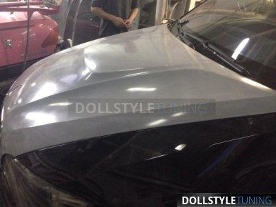 Капот горбатый Hybrid рестайл для BMW X5 E70