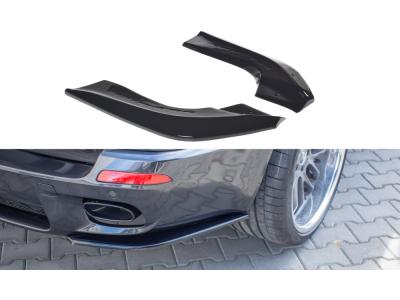 Сплиттеры для заднего бампера боковые от Maxton Design на BMW X5 E70 M-Pack рестайл