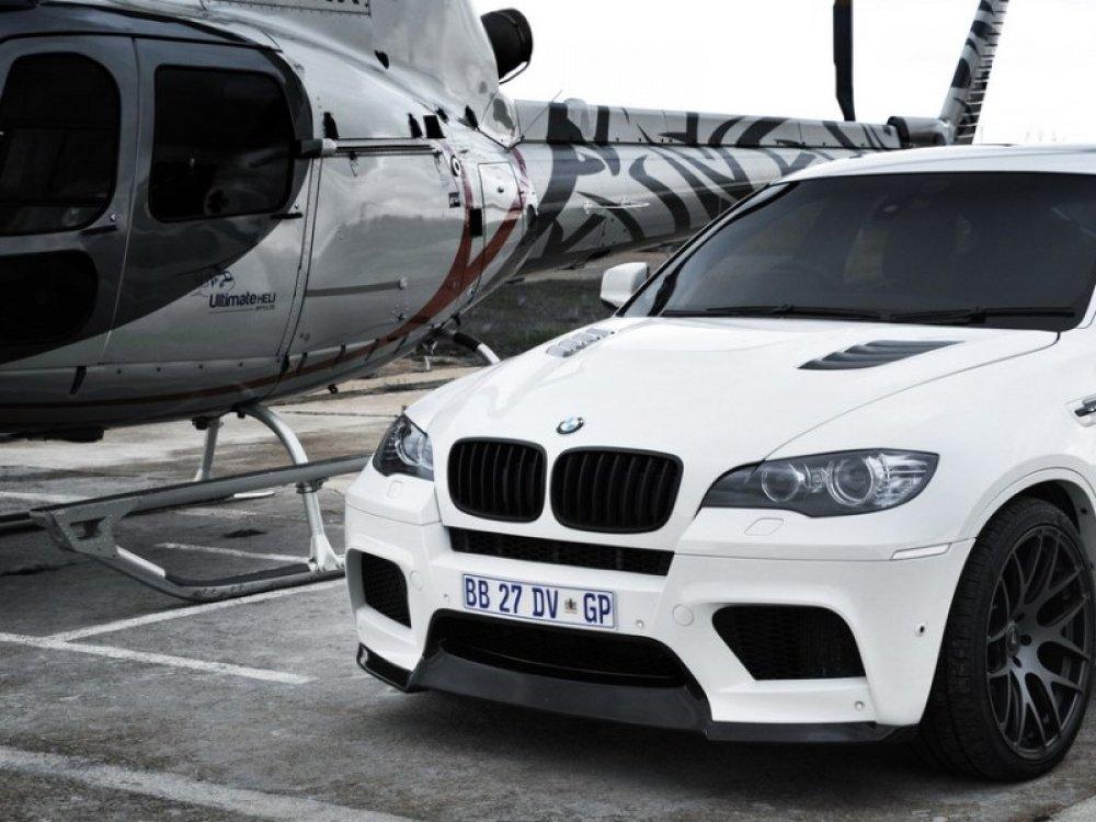 Капот в стиле Vorsteiner для BMW X5 E70