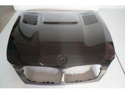 Капот в стиле Vorsteiner карбоновый для BMW X5 E70