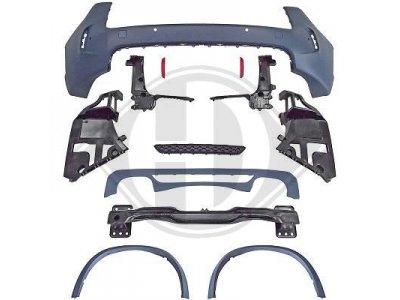 Бампер задний в стиле X5M от HD на BMW X5 F15