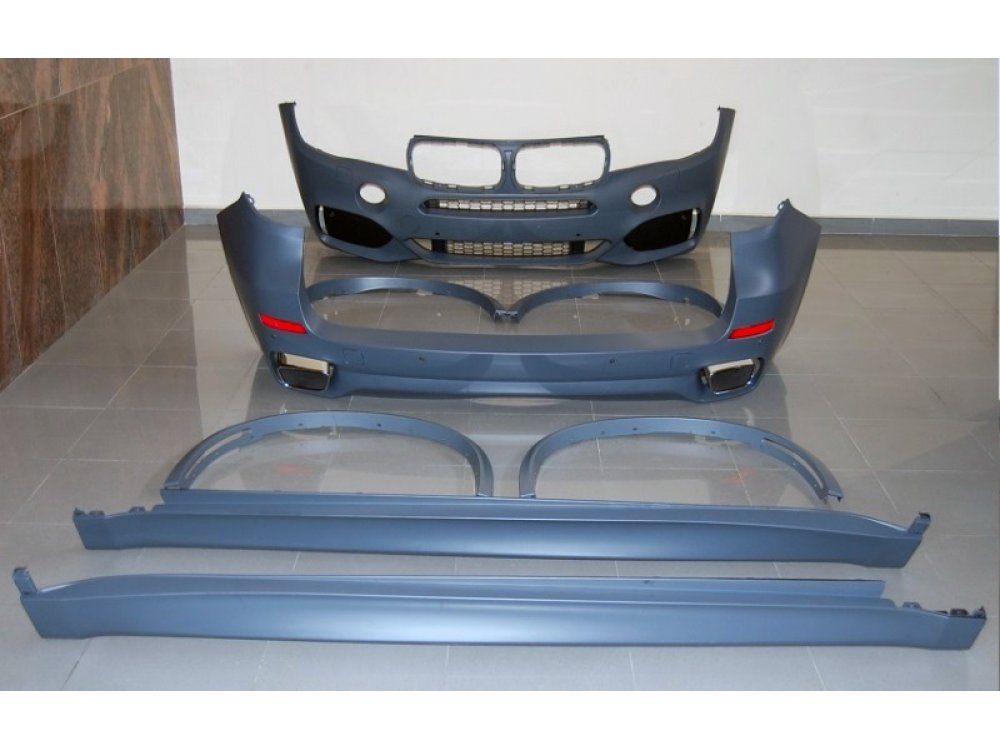 Комплект обвеса в стиле M-Tech от HD на BMW X5 F15