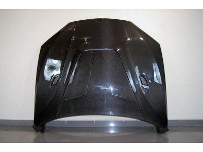 Карбоновый капот в стиле Vorsteiner на BMW X5 F15