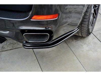 Сплиттеры для заднего бампера боковые от Maxton Design на BMW X5 F15 M50d