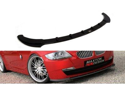 Накладка на пердний бампер MAXTON Design для BMW Z4 E85 / E86 рестайл