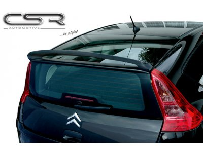 Спойлер крышки багажника от CSR Automotive на Citroen C4 Hatchback 3D