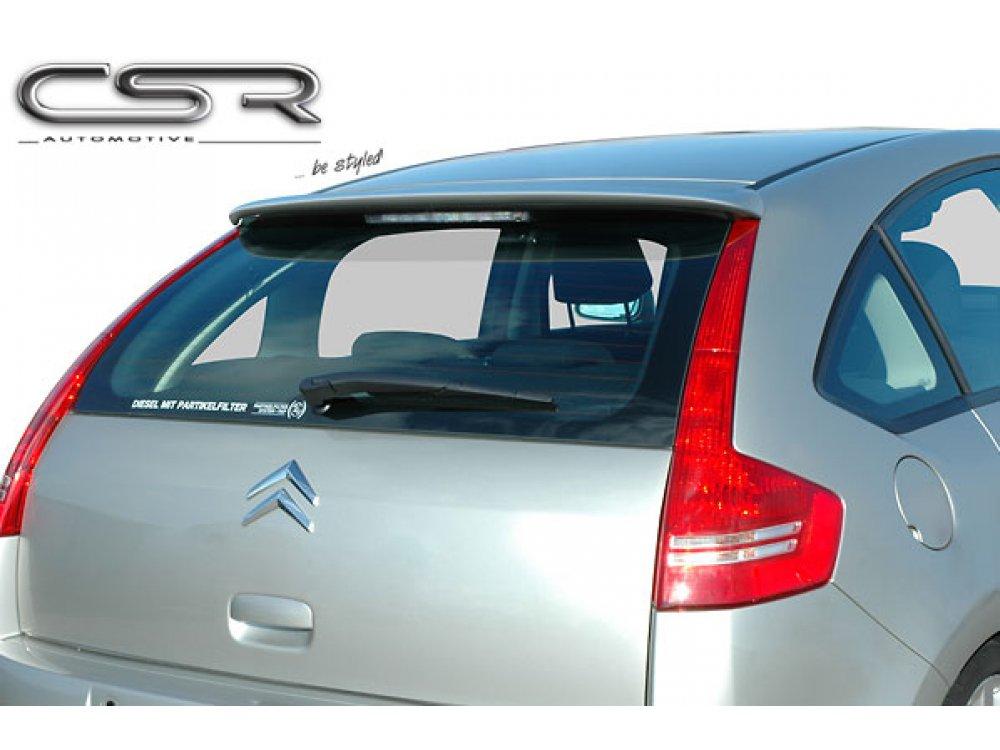 Спойлер крышки багажника от CSR на Citroen C4 Hatchback / Limousine 5D