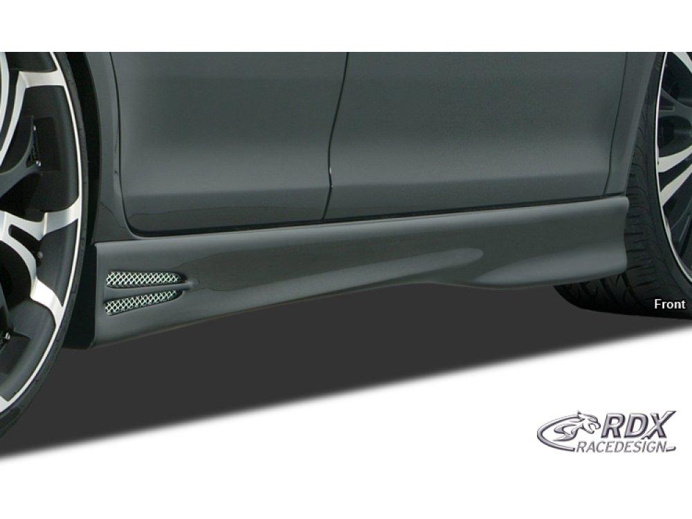 Накладки на пороги GT-Race от RDX на Citroen DS3