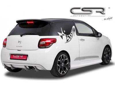 Накладка на задний бампер от CSR Automotive на Citroen DS3