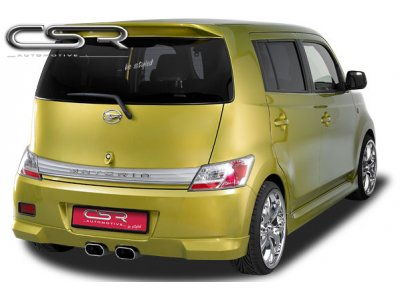 Накладка на задний бампер CSR Automotive на Daihatsu Materia Hatchback