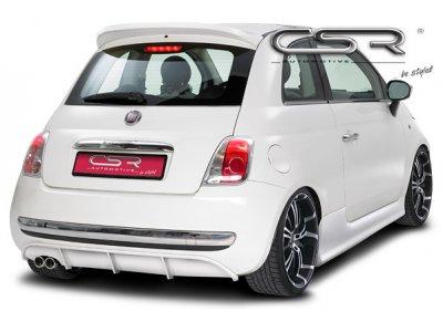 Накладка на задний бампер от CSR Automotive на Fiat 500