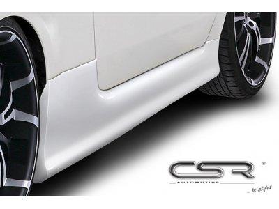 Накладки на пороги от CSR Automotive на Fiat 500