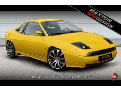 Накладки на пороги AF Unlim от Maxton Design на Fiat Coupe