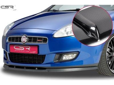 Накладка на передний бампер Elegance Carbon Look от CSR Automotive на Fiat Bravo II