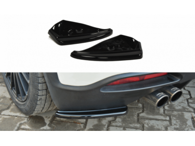 Боковые элероны на задний бампер от Maxton Design для Fiat Grande Punto Abarth