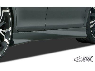 Накладки на пороги Turbo от RDX Racedesign на Fiat Grande Punto
