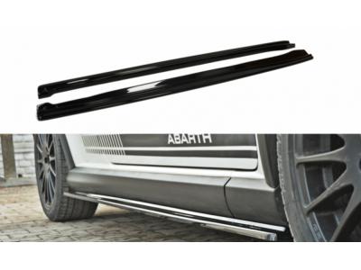 Накладки на пороги от Maxton Design для Fiat Grande Punto Abarth