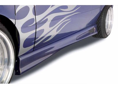 Накладки на пороги EVO от Mattig на Fiat Punto II Hatchback