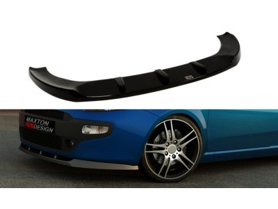 Накладка на передний бампер от Maxton Design для Fiat Punto III Evo