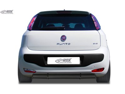 Накладка на задний бампер т RDX Racedesign на Fiat Punto III Evo