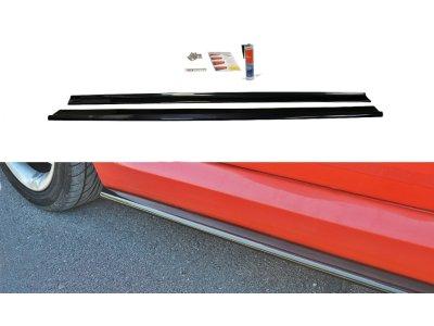 Накладки на пороги от Maxton Design для Fiat Stilo Schumacher