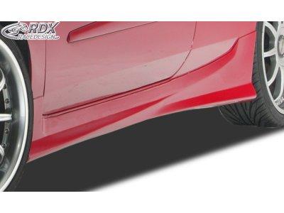 Накладки на пороги Turbo от RDX Racedesign на Fiat Stilo