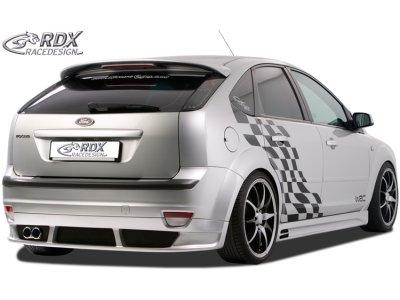 Накладка заднего бампера от RDX Racedesign на Ford Focus II