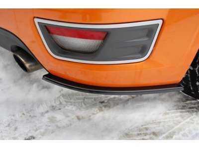 Боковые элероны заднего бампера от Maxton Design для Ford Focus II ST