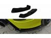 Боковые элероны заднего бампера от Maxton Design для Ford Focus II RS