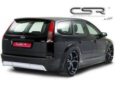Накладка заднего бампера от CSR Automotive на Ford Focus II Wagon