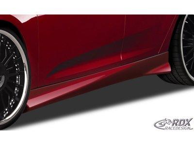 Накладки на пороги Turbo от RDX Racedesign на Ford Focus III