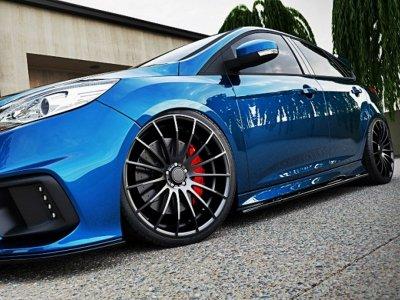 Накладки порогов от Maxton Design для Ford Focus III ST