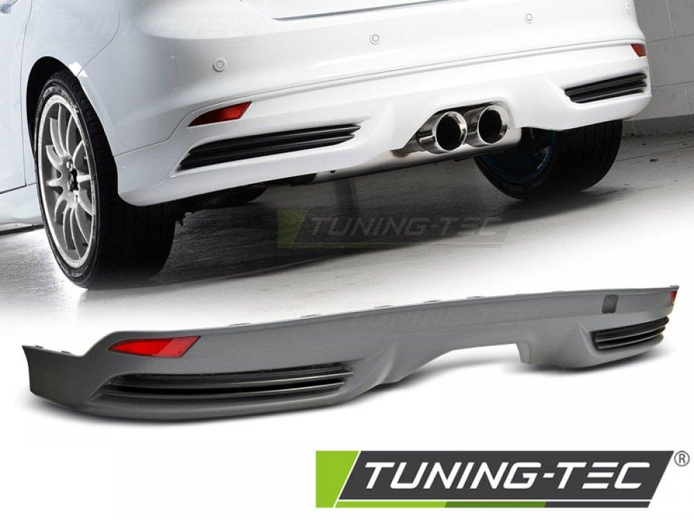 Диффузор заднего бампера в стиле ST от Tuning-Tec для Ford Focus III