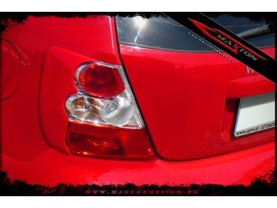 Реснички на задние фонари от Maxton Design для Honda Civic VII 3D