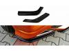 Боковые накладки на задний бампер от Maxton Design для Honda Civic VIII Type S / Type R
