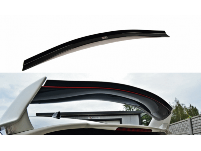 Накладка на задний спойлер от Maxton Design для Honda Civic X Type R