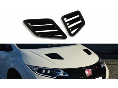 Воздухозаборники в капот от Maxton Design для Honda Civic X Type R