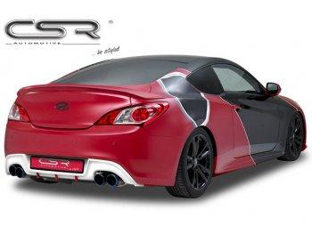 Накладка на задний бампер от CSR Automotive на Hyundai Genesis Coupe