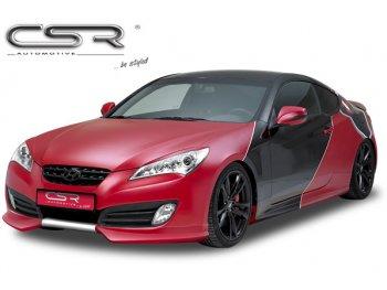 Накладка на передний бампер от CSR Automotive на Hyundai Genesis Coupe