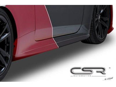Накладки на пороги от CSR Automotive на Hyundai Genesis Coupe