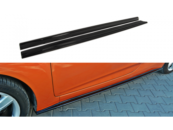 Накладки на пороги от Maxton Design на Hyundai Veloster