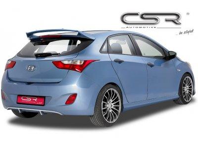 Накладка на задний бампер от CSR Automotive на Hyundai i30 II
