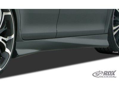 Накладки на пороги Turbo от RDX Racedesign на Hyundai i30 II