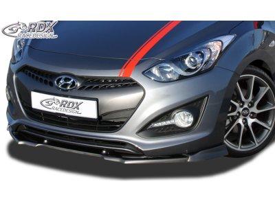 Накладка на передний бампер VARIO-X от на Hyundai i30 рестайл