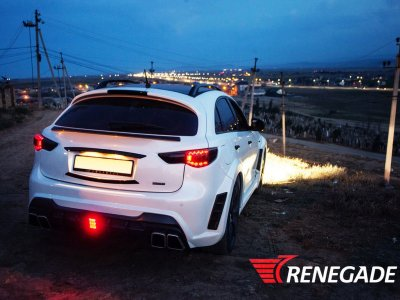 Спойлер на багажник от Renegade для Infiniti QX70 / FX S51