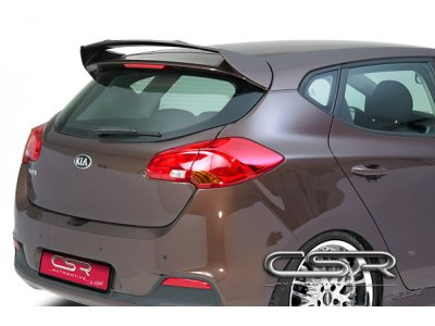 Спойлер на крышку багажника от CSR Automotive на Kia Ceed II Wagon