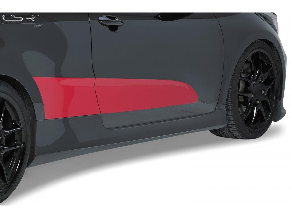 Накладки на пороги от CSR Automotive на Kia Pro Ceed II 3D