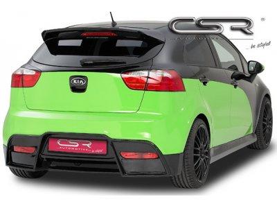 Накладка на задний бампер Elegance от CSR Automotive на Kia Rio III Hatchback