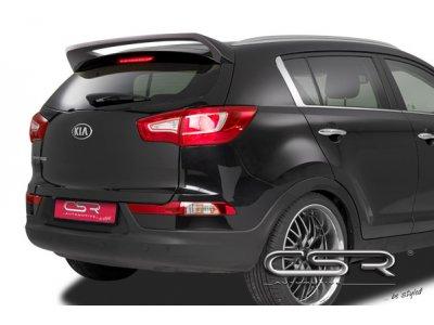 Спойлер на крышку багажника от CSR Automotive на Kia Sportage III